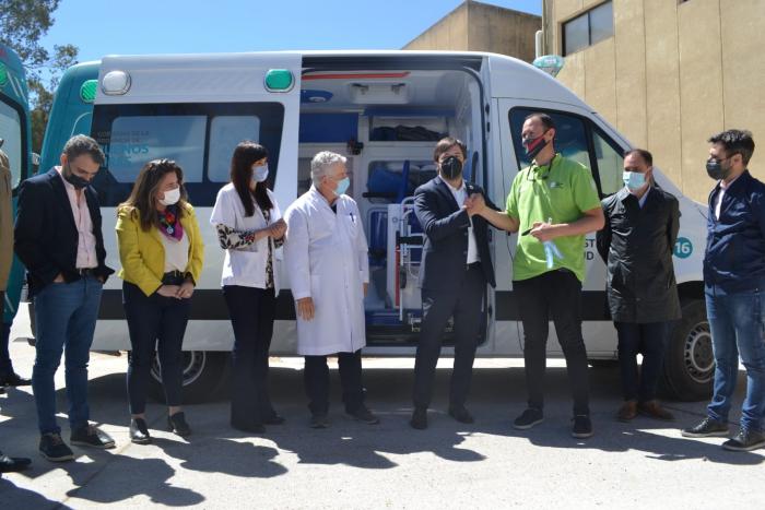 seis ambulancias interior y conurbano