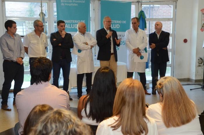 Asumieron las nuevas autoridades del hospital provincial de Wilde