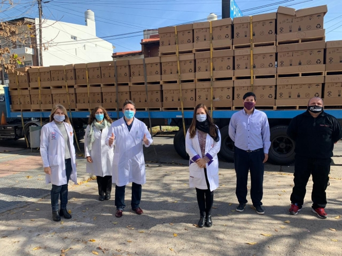 La llegada de camas de UTI al hospital Evita de Lanús