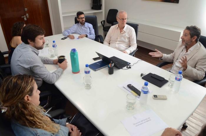 El Ministerio coordina el trabajo conjunto con la secretaría de Salud de Merlo