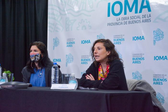 El encuentro se realizó en el auditorio de IOMA.