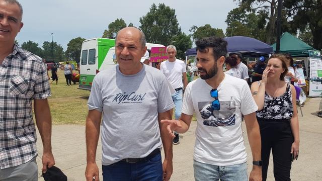 Ministerio de Salud y Ensenada realizaron un operativo sanitario en Punta Lara.