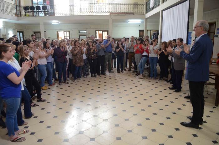 """Salud invitó al equipo de la """"Escuela de sanidad"""" a trabajar colectivamente involucrando a la comunidad"""