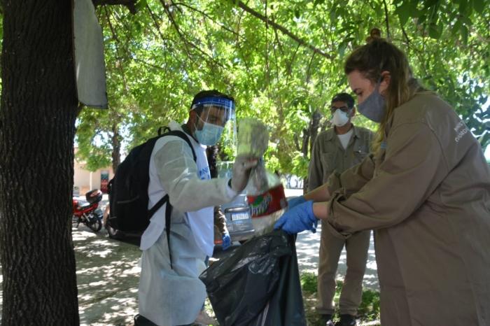 Salud participó de un operativo de abordaje territorial para prevenir el dengue en Quilmes