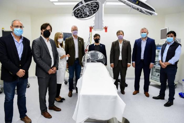 El Hospital Oñativia abrió tres áreas claves para la atención