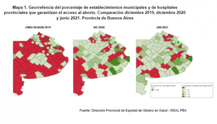 Salud garantiza el acceso al aborto legal con 449 establecimientos provinciales