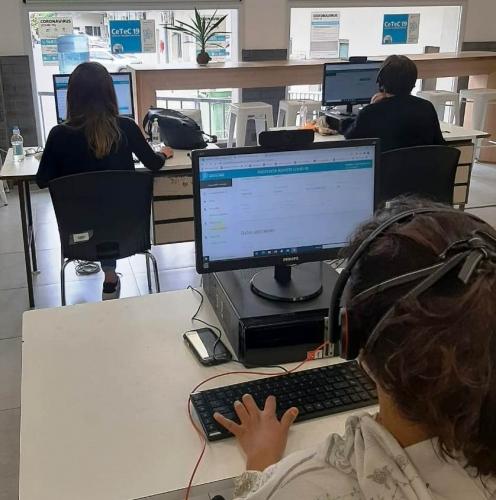Por primera vez, la Provincia montó un Centro de Telemedicina que atendió más de 217 mil consultas por síntomas de COVID-19
