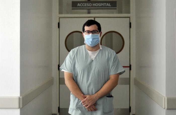 Fuerte caída de contagios entre el personal de Salud