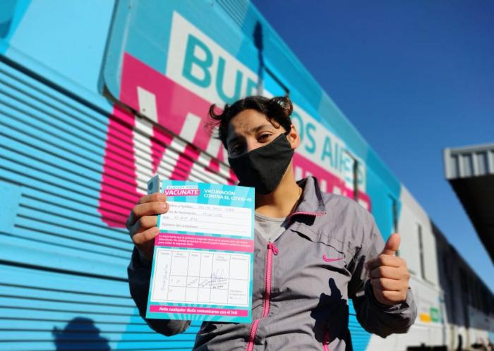 La vacunación avanza en la Provincia de Buenos Aires.