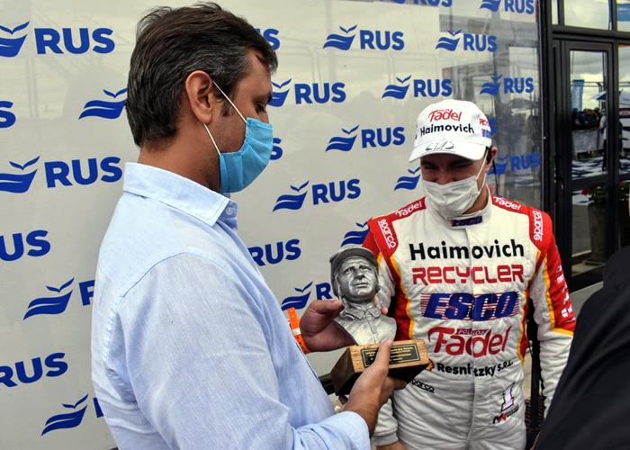 Supply entregó el premio Fangio a los pilotos ganadores