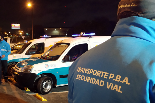La Provincia realizó operativos nocturnos de control vehicular y de alcoholemia