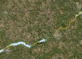 Se ha incorporado, la mancha de inundación para una recurrencia de precipitación de 10 años