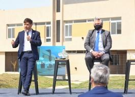 Kicillof participó junto al Presidente de la entrega de viviendas del programa Procrear