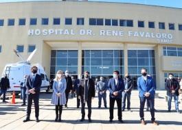 Kicillof participó de la inauguración del Hospital Doctor René Favaloro en La Matanza