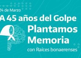 Plantamos Memoria con Raíces Bonaerenses