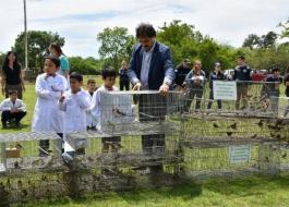 ECAS a 600 aves silvestres que iban a ser destinadas al mascotismo