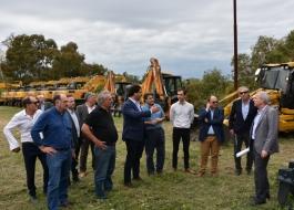 La Provincia avanza con el Plan de Mejoramiento de Caminos Rurales