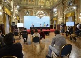 Conferencia de prensa Bianco Gollan Kreplak