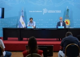 Conferencia de prensa Bianco Gollan