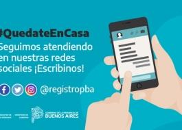 EL REGISTRO DE LAS PERSONAS IMPLEMENTÓ UN SISTEMA DE ATENCIÓN A DISTANCIA