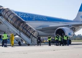Vuelo especial. Aerolíneas Argentinas.