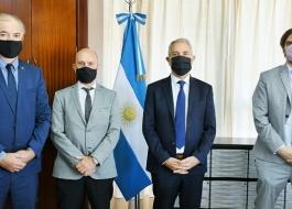 ALAK RECIBIÓ A AUTORIDADES DEL COLEGIO DE MAGISTRADOS Y FUNCIONARIOS DEL PODER JUDICIAL