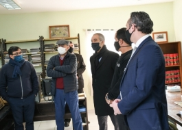 Impulsan actividades educativas y laborales en la cárcel de Olmos, la más poblada de la Provincia