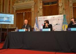 Conferencia de prensa Gollan Bianco Kreplak