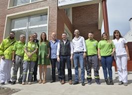 La gobernadora de la Provincia de Buenos Aires, María Eugenia Vidal, se reunió hoy con operarios de SAME Lanús.