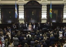 El gobernador Axel Kicillof inauguró esta tarde el 148° período de Sesiones Ordinarias de la Legislatura bonaerense.