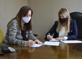 Firma de Convenio por el Fondo de Emergencia para Violencias por Razones de Género  en Cañuelas