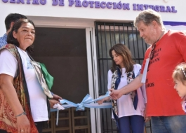 LA MINISTRA ESTELA DÍAZ INAUGURÓ LA CASA NATALIA MELMANN EN MIRAMAR