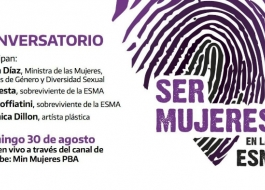 cONVERSATORIO Ser Mujeres en la ESMA