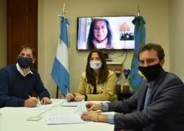 Firma de convenio entre el Ministerio de las Mujeres, Políticas de Género y Diversidad Sexual, Provincia Seguros y la Fundación