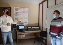 """El subsecretario de Transporte, Alejo Supply, extendió """"Licencias en el Acto"""" a la localidad de Puán"""