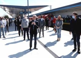 Supply participó de la reinauguración de la estación Boulogne Sur Mer junto a Meoni
