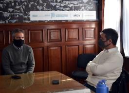 Alejo Supply se reunió con Matías Moreno