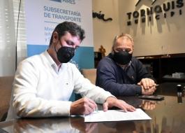 """El subsecretario de Transporte, Alejo Supply, puso en marcha el programa """"SUBE 100% Buenos Aires"""""""