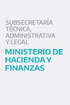 Subsecretario Técnico, Administrativo y Legal