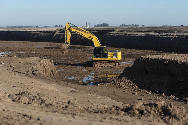 Provincia recuperó un crédito para el Plan del Río Salado