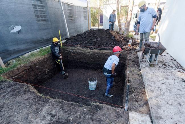 Avanzan las obras del Fondo de Infraestructura Municipal en Quilmes