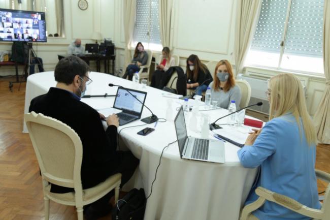 La actividad fue seguida en forma virtual por diferentes sectores.