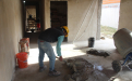 Avanza la construcción de viviendas en Melchor Romero