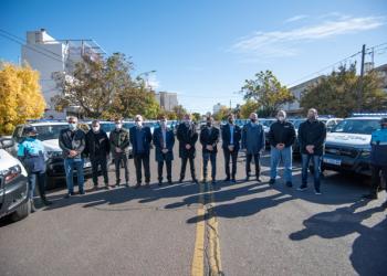 Se pusieron en marcha 40 nuevos patrulleros para Bahía Blanca