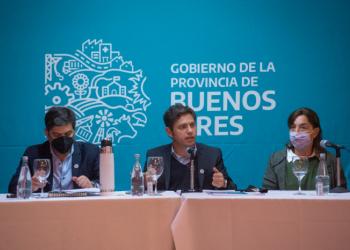 """Kicillof: """"Trabajamos para que la reactivación esté dirigida especialmente hacia los sectores que más sufrieron la pandemia"""""""