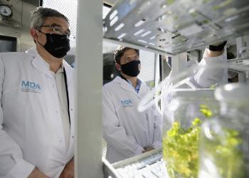 Inuaguración Laboratorio de Micropropagación Vegetal