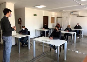 La DPPSV realizó evaluaciones escritas para instructores de manejo