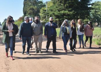 Rodríguez recorrió obras del Plan de Mejora de Caminos Rurales en Junín