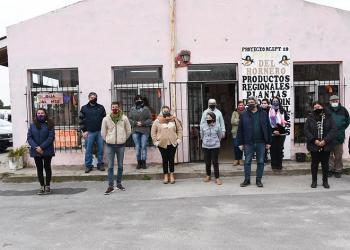 El Ministro Rodríguez recorrió el municipio de Magdalena