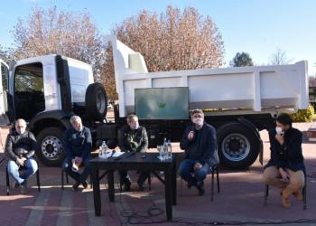 El MDA entregó maquinaria vial al municipio de Laprida
